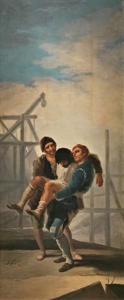 The Injured Mason (El albañil herido)