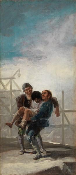 El albañil herido (boceto)