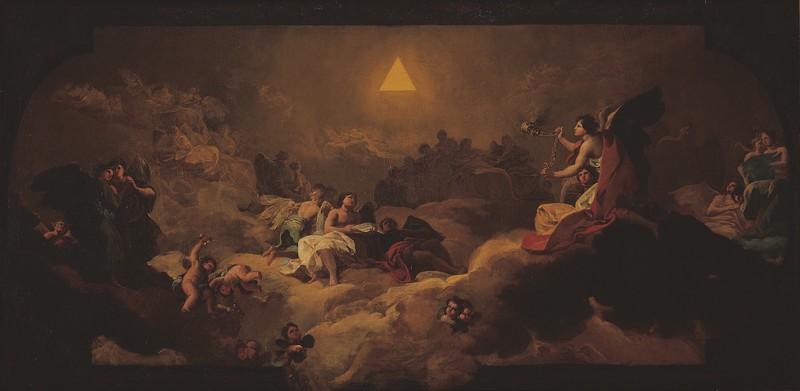 Adoración del Nombre de Dios (boceto)