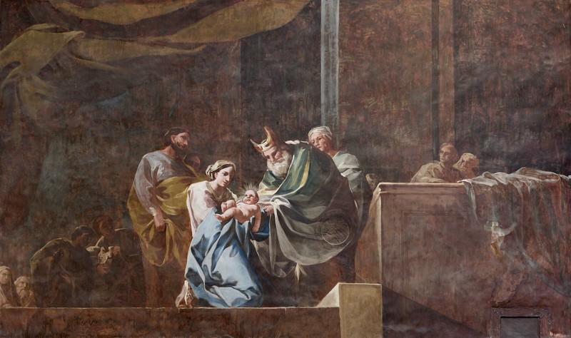 La presentación del Niño Jesús en el templo y purificación de María