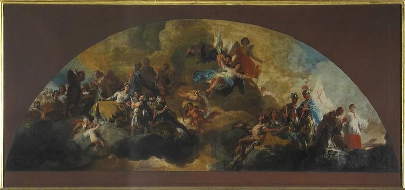 Regina Martyrum (boceto de la mitad secundaria)