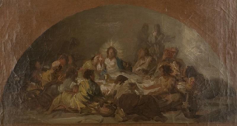 La Santa Cena (boceto)