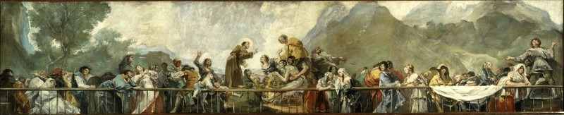 Milagro de San Antonio de Padua (boceto 2)