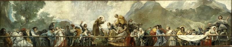 Miracle of Saint Anthony of Padua (Milagro de San Antonio de Padua) (sketch 2)