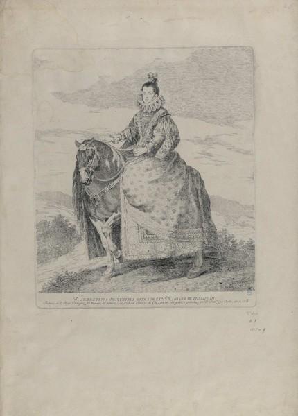 Doña Margarita de Austria Reina de España, mujer de Felipe III