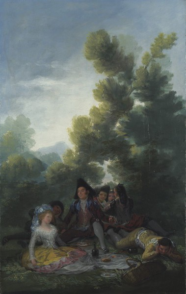 Country Picnic (Merienda campestre) (sketch)