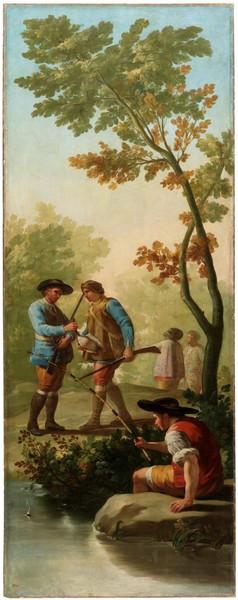 El pescador de caña