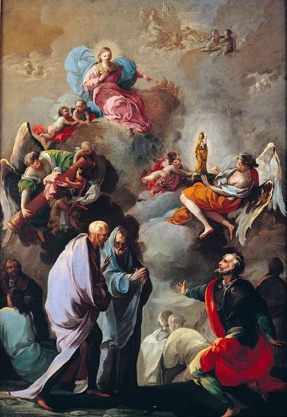 Coming of the Virgin of the Pillar to Zaragoza (Venida de la Virgen del Pilar a Zaragoza)