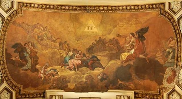 Adoration of the Name of God by Angels (Adoración del nombre de Dios por los ángeles)