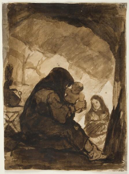La visita al ermitaño (¿F.28?)