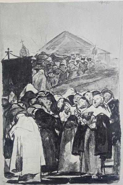 Procesión de monjes (F.44)
