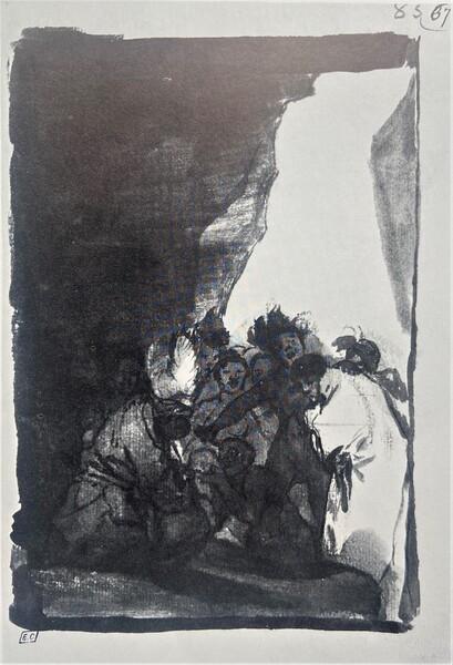 Salvajes en una cueva (F.83)
