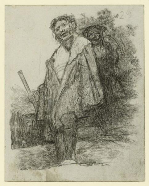 Hombre con un mosquetón (H.29)