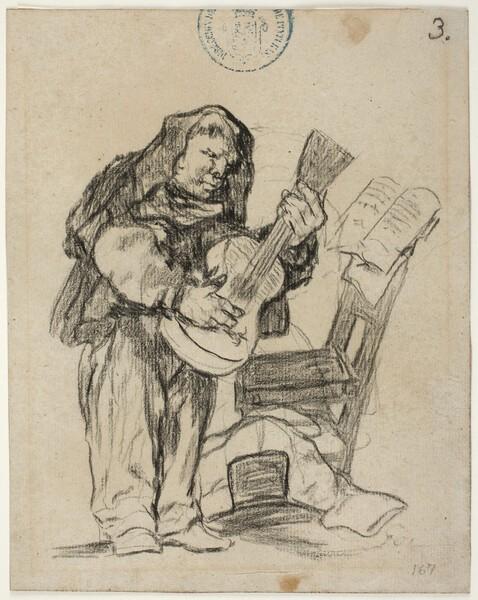 Fraile guitarrista (H.3)