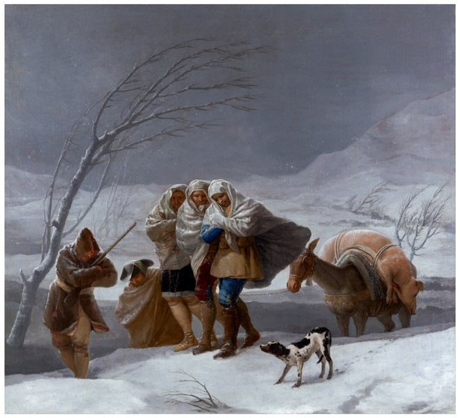 The Snowstorm (La nevada)